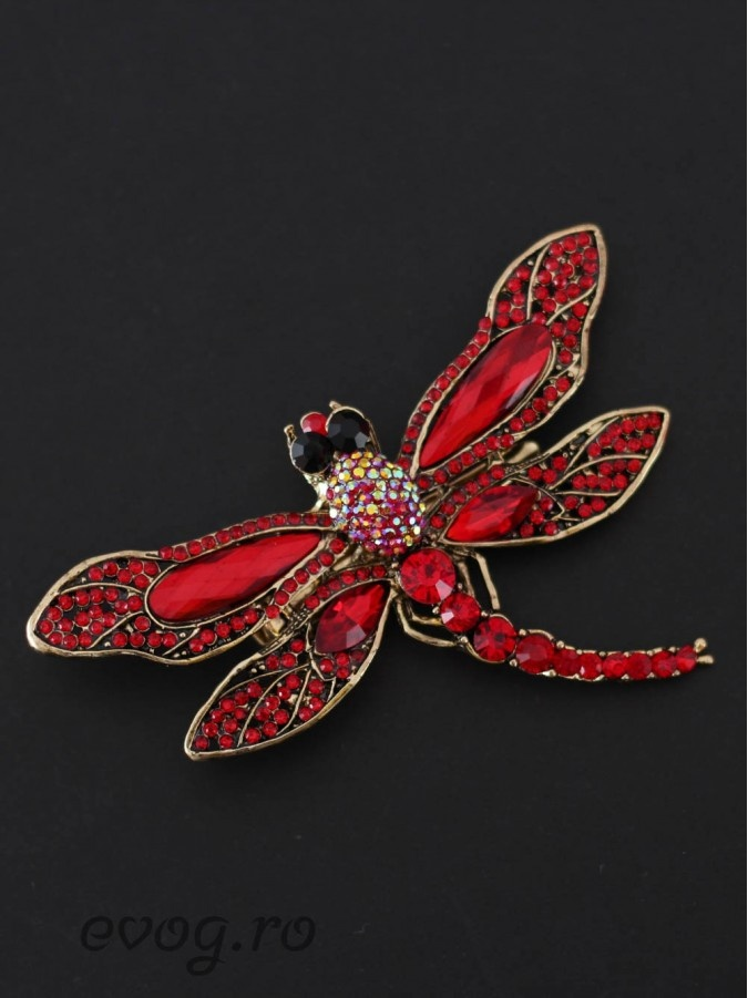 Brosa Dragon-Fly Red